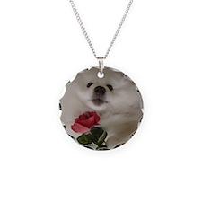American Eskimo Dog Necklace