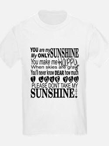 Sunshine Typography T-Shirt