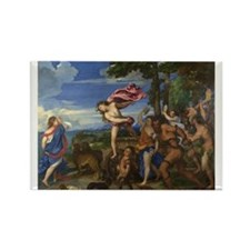 Bacchus and Ariadne Rectangle Magnet