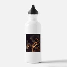 Cain Slaying Abel Sports Water Bottle