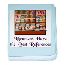 """""""Best References"""" baby blanket"""