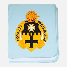 Cute 5th infantry baby blanket