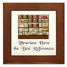 """""""Best References"""" Framed Tile"""