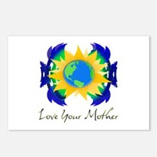 Love Your Mother Postcards (Package of 8)