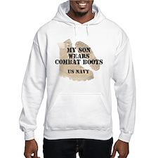 My Son Wears Navy DCB Jumper Hoody