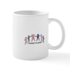 shakys kids large logo Mugs