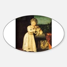 Portrait of Clarissa Strozzi Decal