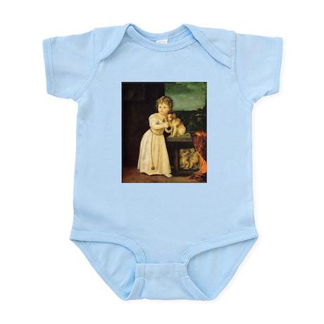 Portrait of Clarissa Strozzi Infant Bodysuit