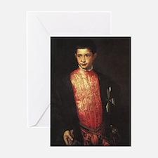 Portrait of Ranuccio Farnese Greeting Card