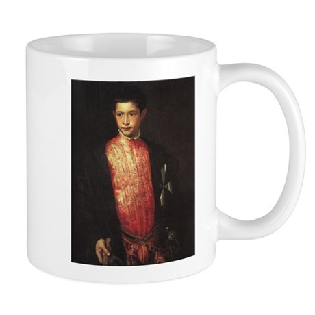 Portrait of Ranuccio Farnese Mug