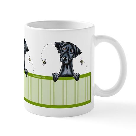 Bee Nice Black Lab Lover Mug