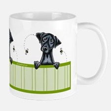 Bee Nice Black Lab Lover Mug