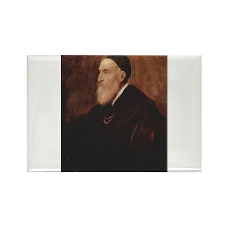 Self Portrait 1567 Rectangle Magnet