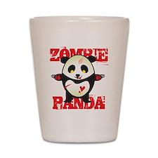 Zombie Panda Shot Glass