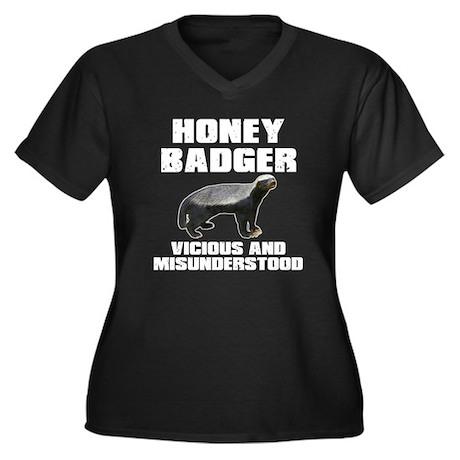 Honey Badger Vicious & Misunderstood Women's Plus