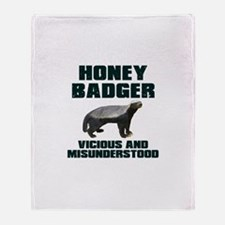 Honey Badger Vicious & Misunderstood Stadium Blan