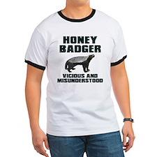 Honey Badger Vicious & Misunderstood T
