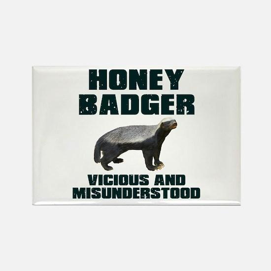 Honey Badger Vicious & Misunderstood Rectangle Mag