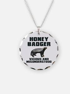 Honey Badger Vicious & Misunderstood Necklace