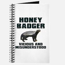 Honey Badger Vicious & Misunderstood Journal