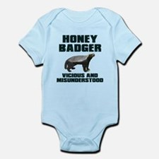 Honey Badger Vicious & Misunderstood Infant Bodysu