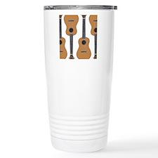 ukulele Travel Coffee Mug