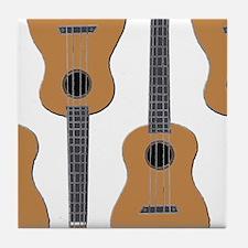 ukulele Tile Coaster