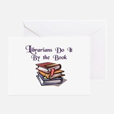 """Do It By the Book"" Greeting Card"