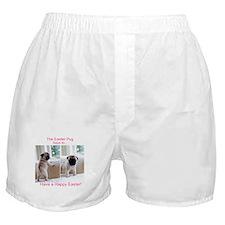 Easter Pug Boxer Shorts