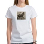 Boy on Taxidermy Horse Women's T-shirt
