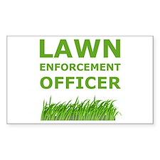Lawn Enforcement Officer Decal