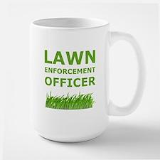 Lawn Enforcement Officer Large Mug