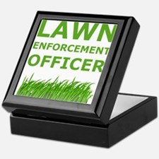 Lawn Enforcement Officer Keepsake Box