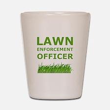 Lawn Enforcement Officer Shot Glass