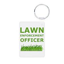 Lawn Enforcement Officer Keychains