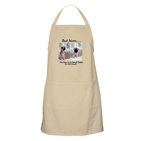 The Pugs Make the Rules Apron