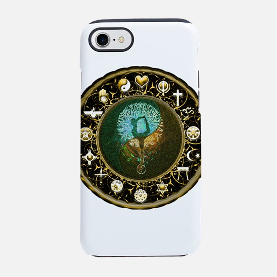 World Religions Harmony and Ba iPhone 7 Tough Case