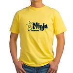 Training Ninja Yellow T-Shirt