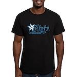 Training Ninja Men's Fitted T-Shirt (dark)