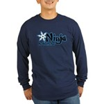 Training Ninja Long Sleeve Dark T-Shirt