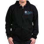 Training Ninja Zip Hoodie (dark)