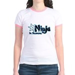 Training Ninja Jr. Ringer T-Shirt