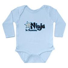 Training Ninja Long Sleeve Infant Bodysuit