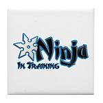 Training Ninja Tile Coaster