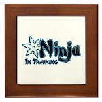 Training Ninja Framed Tile