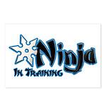 Training Ninja Postcards (Package of 8)