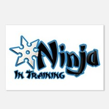 Training Ninja Postcards (Package of 8)
