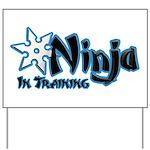 Training Ninja Yard Sign