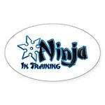 Training Ninja Sticker (Oval)