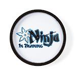 Training Ninja Wall Clock